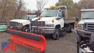 2008 GMC C5500 Dump Truck & Plow