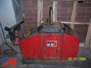Coates 10/10 Tire Changing Machine