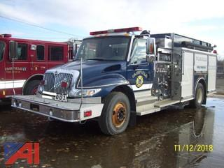 2003 International 4400 SBA Rescue/Pumper