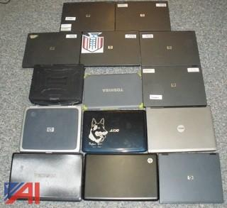 Various Laptops with Some Chargers