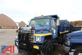 1987 International 1754 Dump Truck