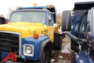 1985 International 1954 Sander Truck