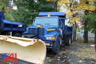 1995 International 4700 Dump Truck with Plow