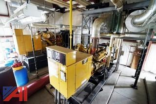 1000HP Generator Room Components and Cooling System