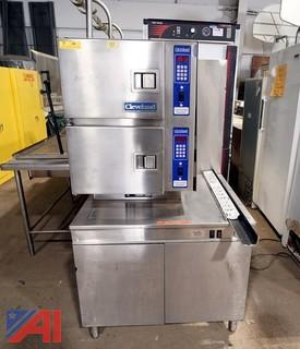 Cleveland Gas Convection Floor Steamer with Boiler Base