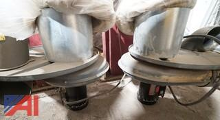 55 Gallon Type Drum Top Dust Collectors