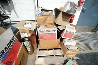 Assorted New & Used Plumbing Service Stock in Boxes
