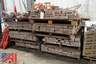 Overstock Construction Bricks on Pallets