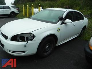 2010 Chevrolet Impala 4 Door/Police Vehicle