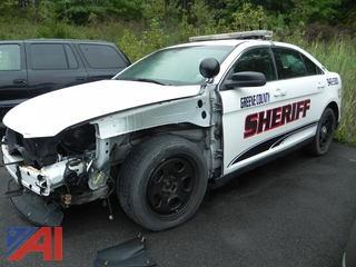 2013 Ford Taurus 4 Door/Police Vehicle