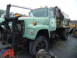 1992 Ford L8000F Dump Truck with Sander