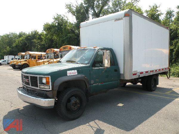 1993 gmc 3500 dump truck