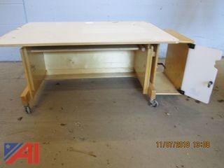Desk, Easel, Doll Bed