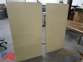 Blackboard, Easel, Vinyl Baseboard and More