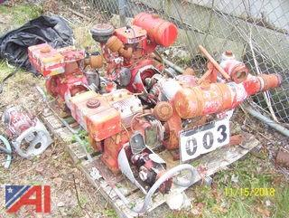 Gas Engine Fire Pumps