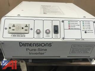 Dimensions Pure-Sine Inverter