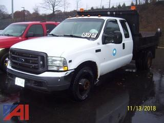 2004 Ford F350 SD Extended Cab Dump Truck