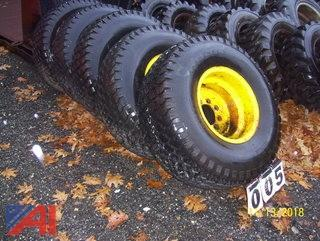 Trackless Turf Tires