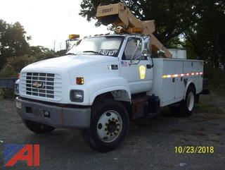 1999 Chevy C7500 Utility Bucket