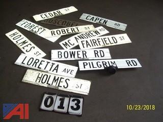 Aluminum Street Signs