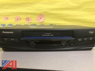 (2) TV's, (2) VCR's