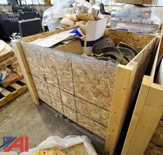 Crate of Automotive Heavy Truck Parts, #1