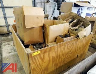 Crate of Automotive Service Parts