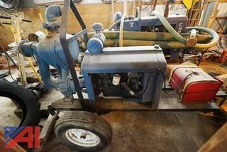 "LFE #4W-8004 Pull Behind 4"" Pump"