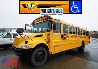 2010 IC CE300 Wheelchair School Bus/128