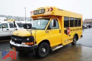 2010 Chevy E350 Collins Mini School bus/131