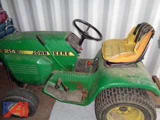 John Deere Riding Tractor