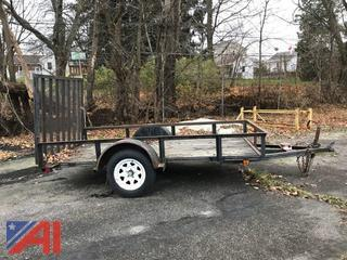 1999 Carry-On Flat Bed Trailer
