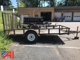 2000 Carry-On Flat Bed Trailer