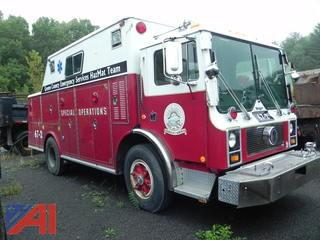 **Lot Updated** 1981 Mack MC487FC/Ranger Fire Truck