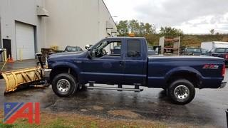 **Lot Updated** 2004 Ford F250 SD Pickup with Plow