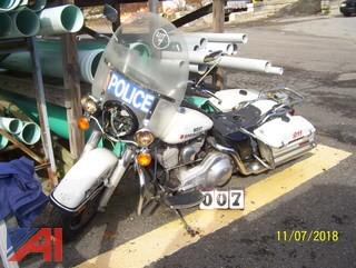 1997 Harley Davidson FLHP Motor Cycle