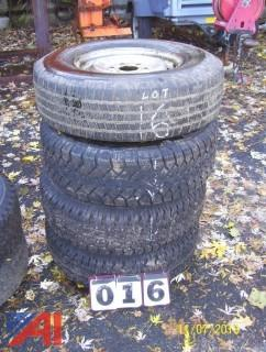 245/75R16 Tires