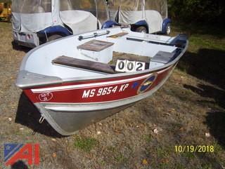 Lund Laker 16 Aluminum Boat