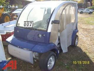 2002 Ford Think Electric Car