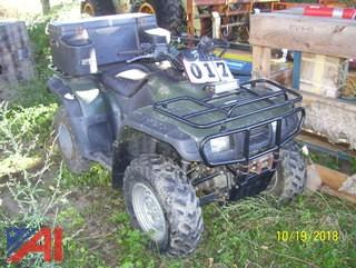2003 Honda TRX350FE ATV