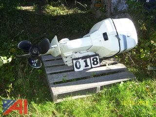 Johnson 90HP Outboard motor