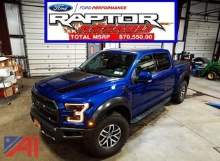 **4% BP 2018 Ford F150 Raptor 4x4 Supercrew Pickup Truck