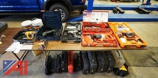 Corded Power Tools and Spare Cases