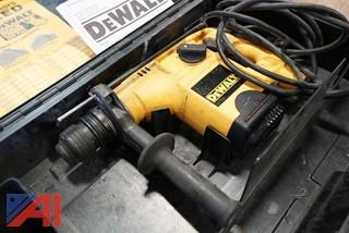 """DeWalt #DW568 1-1/8"""" HD Rotary Hammer Drill with Case"""