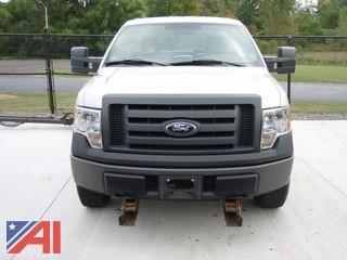 2009 Ford F150 Pickup with Plow