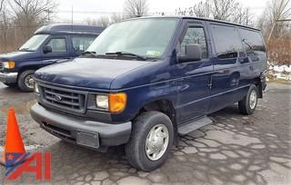 2007 Ford E150 XL Van
