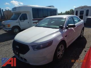**Lot Updated, Vehicle has Keys** 2013 Ford Taurus 4 Door Sedan/Police Vehicle