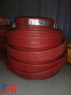 "2 1/2"" 150' Rubber Fire Hose"