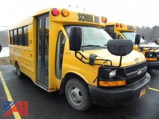 2012 Chevrolet Express 3500 School Bus