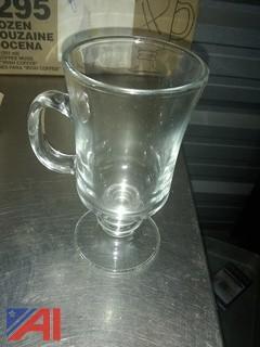Large Box of Glassware
